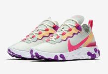 Nike React Element 55 Pistachio Frost Digital Pink BQ2728-303 Release Date Info