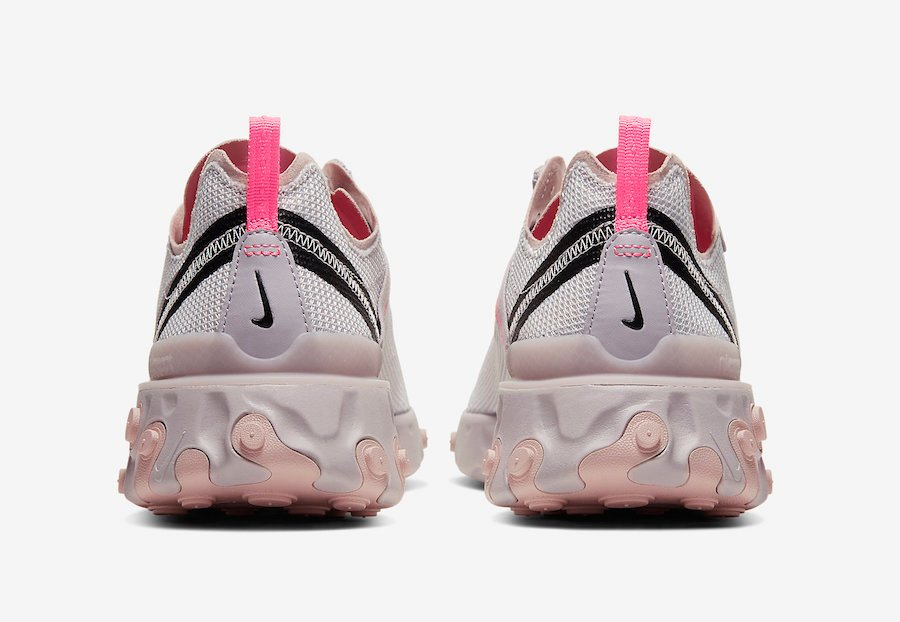 Nike React Element 55 Platinum Violet CW2369-001 Release Date Info