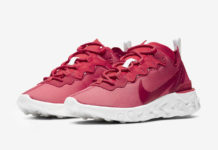 Nike React Element 55 Red White CV2206-661 Release Date Info