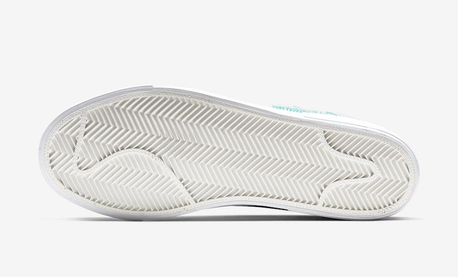 Nike SB Blazer Mid Edge White Orange Aqua CI3833-101 Release Date Info
