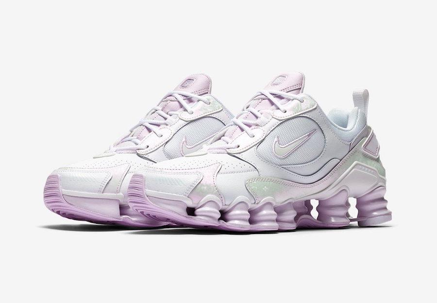 Nike Shox TL Nova White Barely Grape CV3019-100 Release Date Info