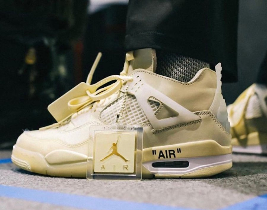 Off-White Air Jordan 4 Sail 2020 Release Date Info