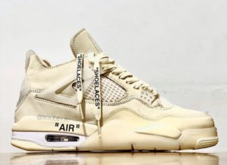 Off-White Air Jordan 4 Sail CV9388-100 Release Date