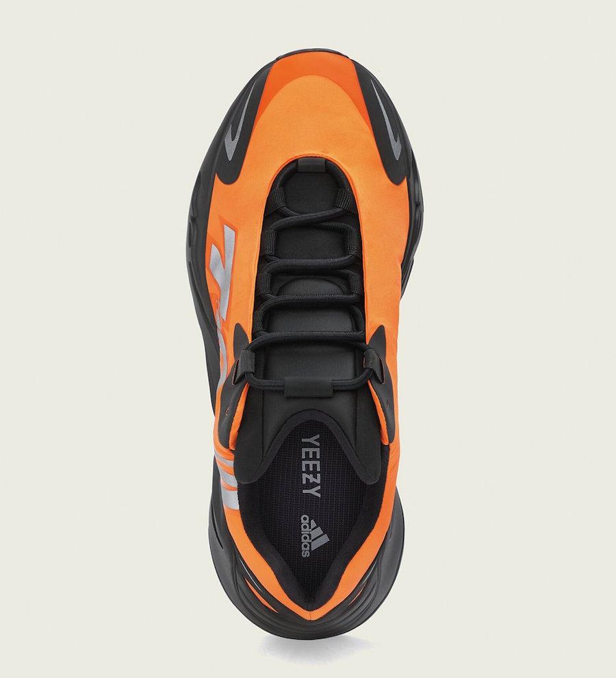 Orange adidas Yeezy Boost 700 MNVN FV3258 Release Date