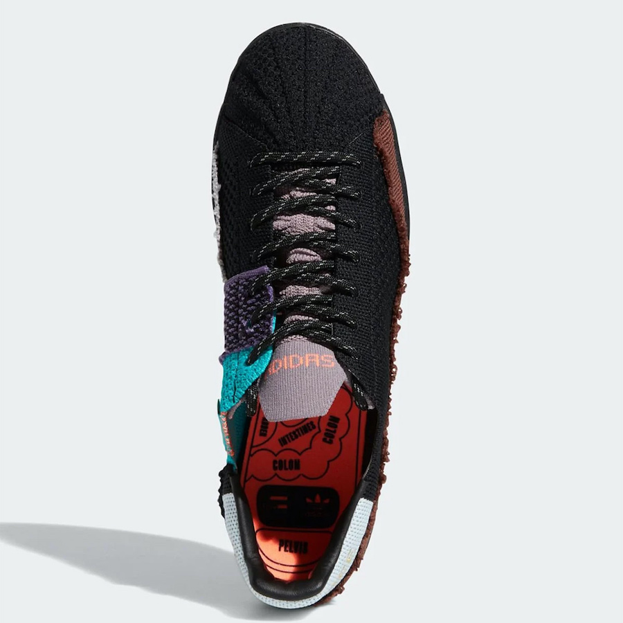 Pharrell adidas Superstar Black FY1787 Release Date