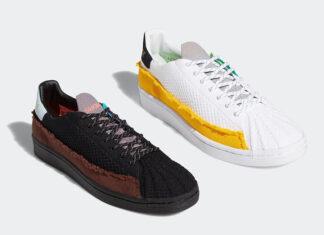 Pharrell adidas Superstar White Black 2020 Release Date Info