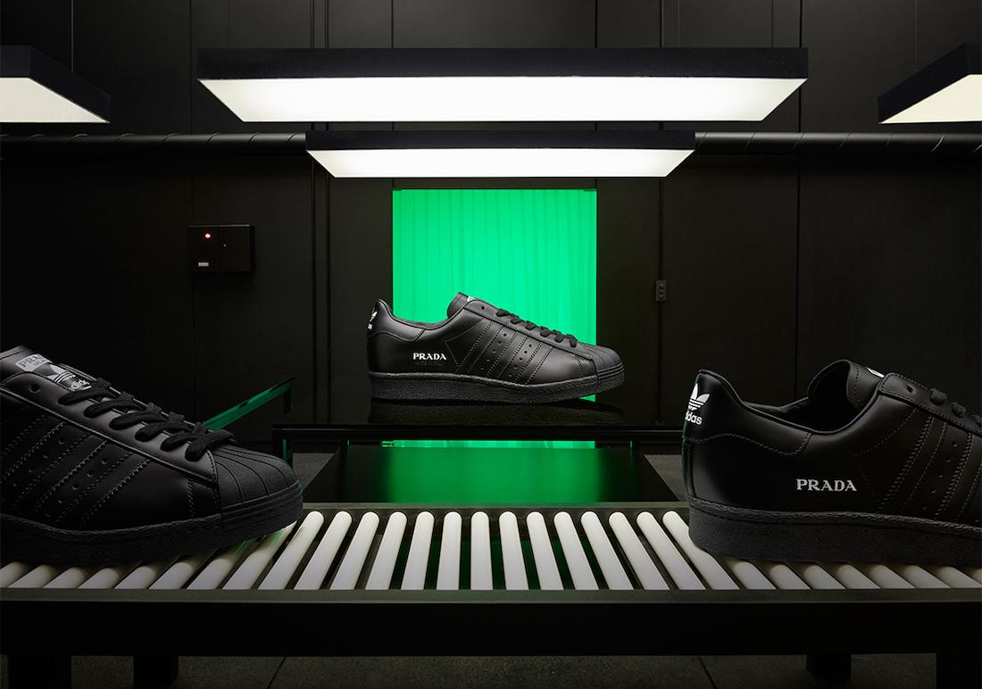 Prada adidas Superstar Black Release Date