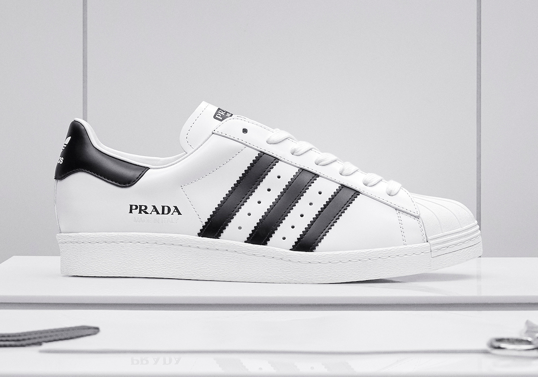 Prada adidas Superstar White Black Release Date