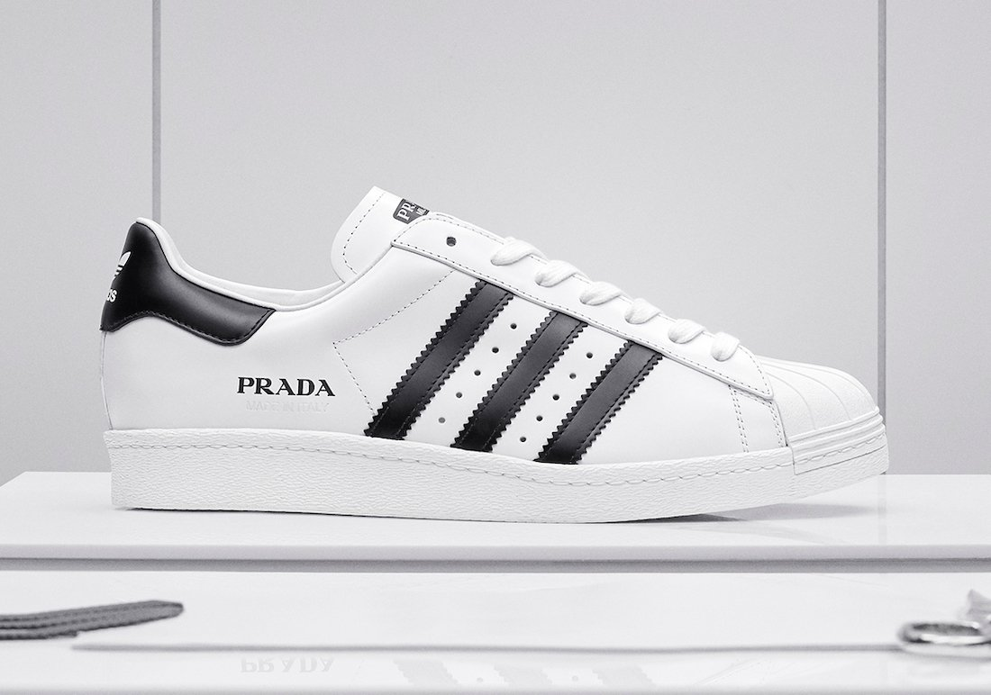 Prada adidas Superstar White Black Release Date