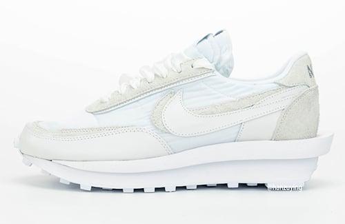sacai Nike LDWaffle White Nylon Release Date