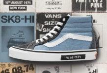 size? Vans SK8-Hi Dawn of Punk Release Date Info