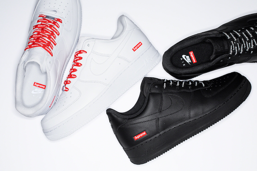 Supreme Nike Air Force 1 Low 2020 Release Details