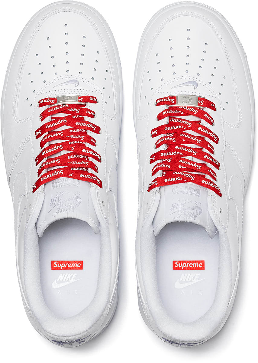 Supreme x Nike Air Force 1 Low release date | MANNENSTY:E