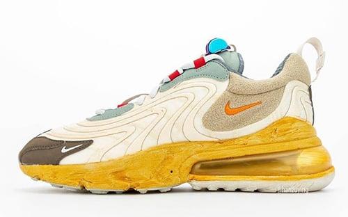 Travis Scott Nike Air Max 270 React Release Date