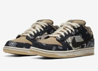 Travis Scott Nike SB Dunk Low CT5053-001 Release Pricing