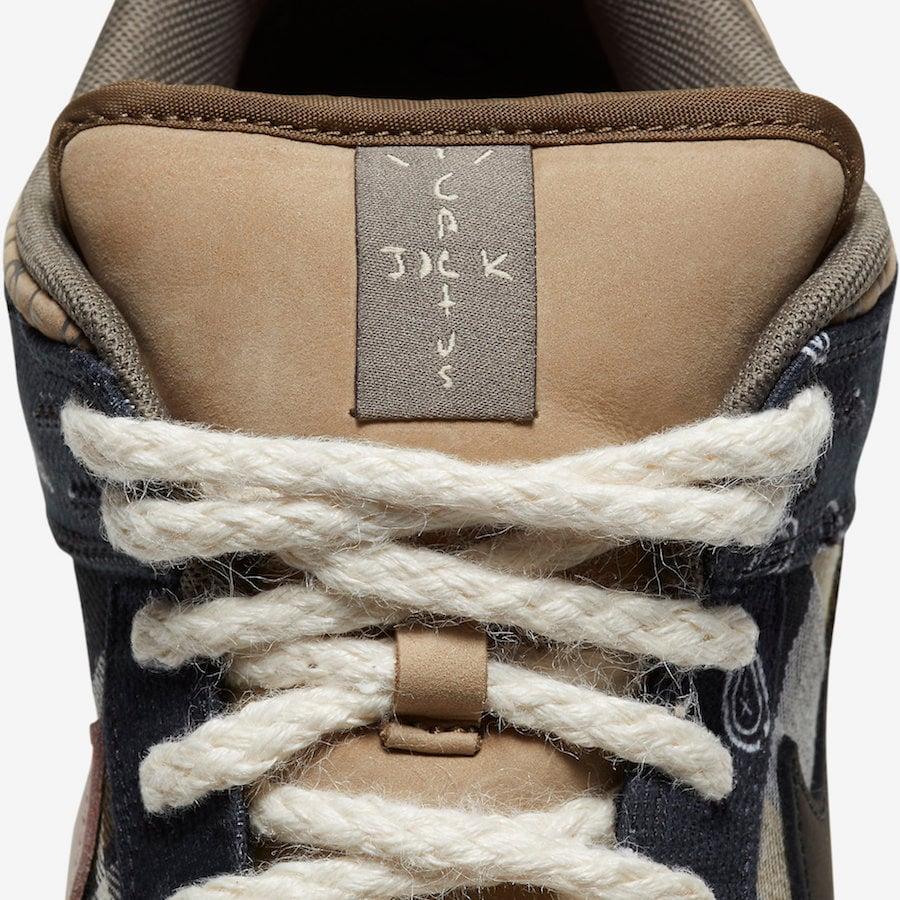 Travis Scott Nike SB Dunk Low CT5053-001 Release Pricing