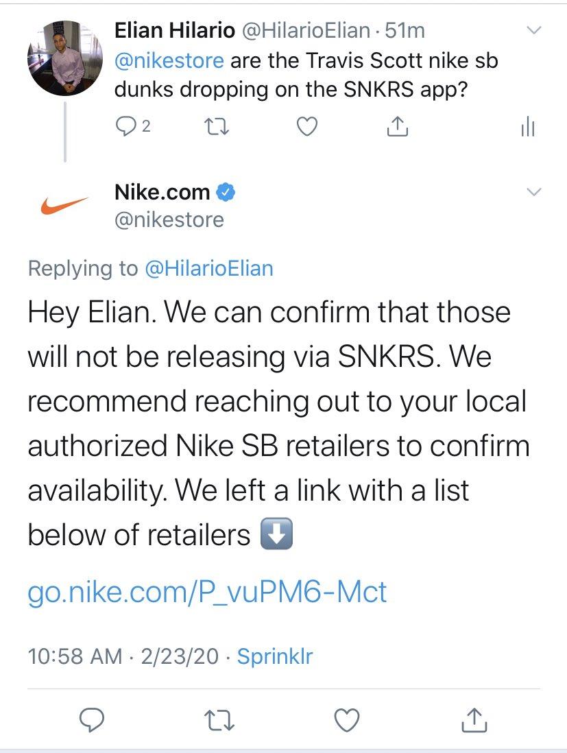 Travis Scott Nike SB Dunk Low SNKRS Details