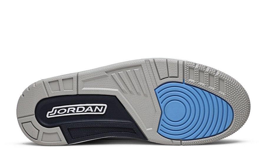 UNC Air Jordan 3 CT8532-104 Release Date