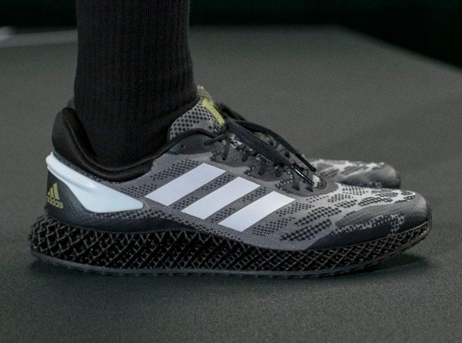 adidas 4D Run 1.0 Black White Gold EG6247 Release Date Info