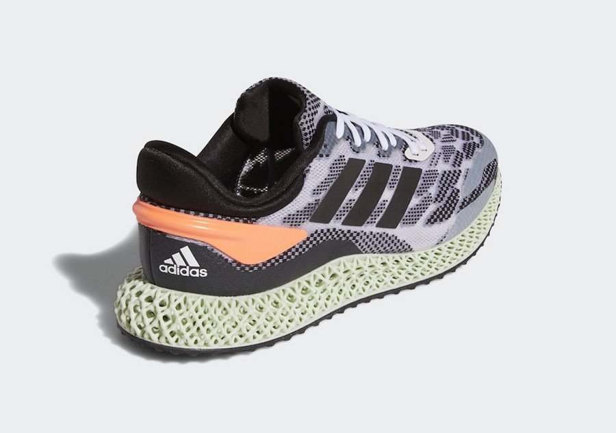 adidas 4D Run 1.0 Signal Coral FW1233 Release Date Info