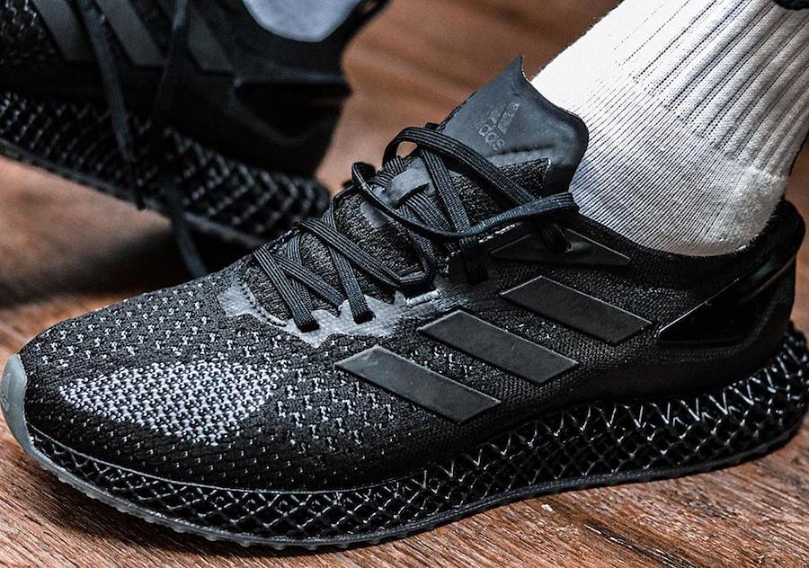 adidas 4D Run 1.0 Triple Black Release Date Info