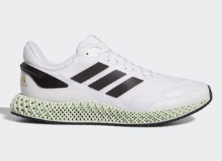 adidas 4D Run 1.0 White Black Gold EG6264 Release Date Info