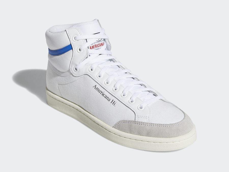 adidas Americana Hi EG5522 White Blue Release Date Info