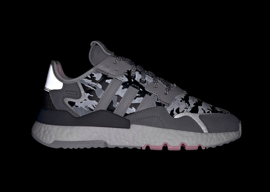 adidas Nite Jogger Camo Grey Pink EH1291 Release Date Info