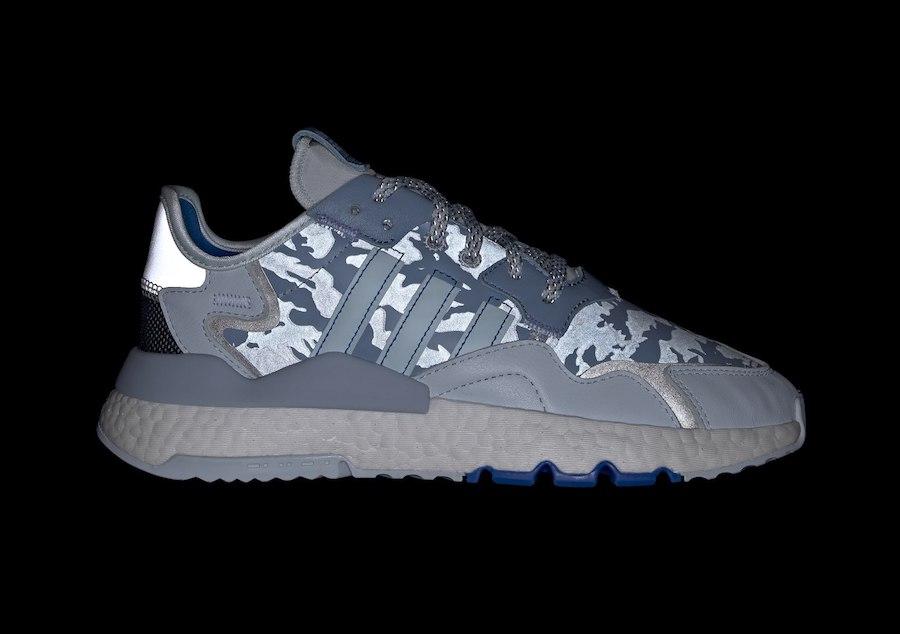 adidas Nite Jogger Camo Sky Tint Glory Blue EH1292 Release Date Info