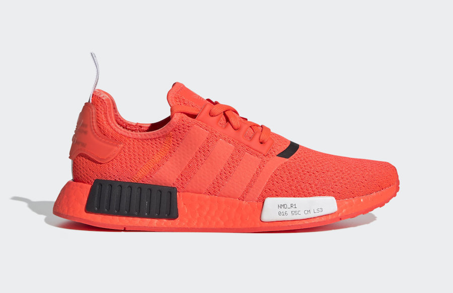 adidas NMD R1 Solar Red EF4267 Release Date Info