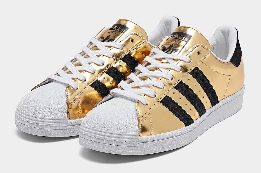 adidas Superstar Gold Metallic FX3900 Release Date Info