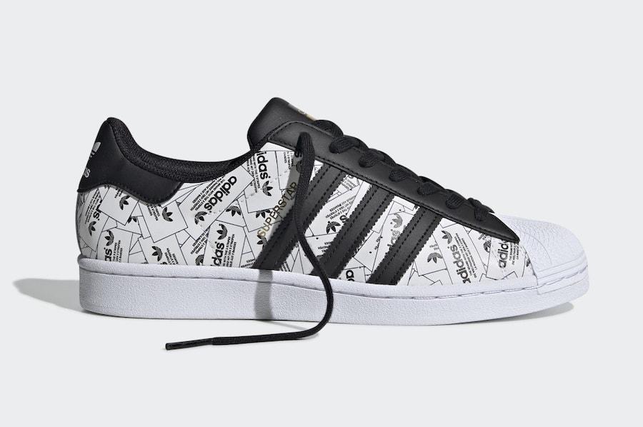 adidas Superstar Reflective Labels FV2819 Release Date Info