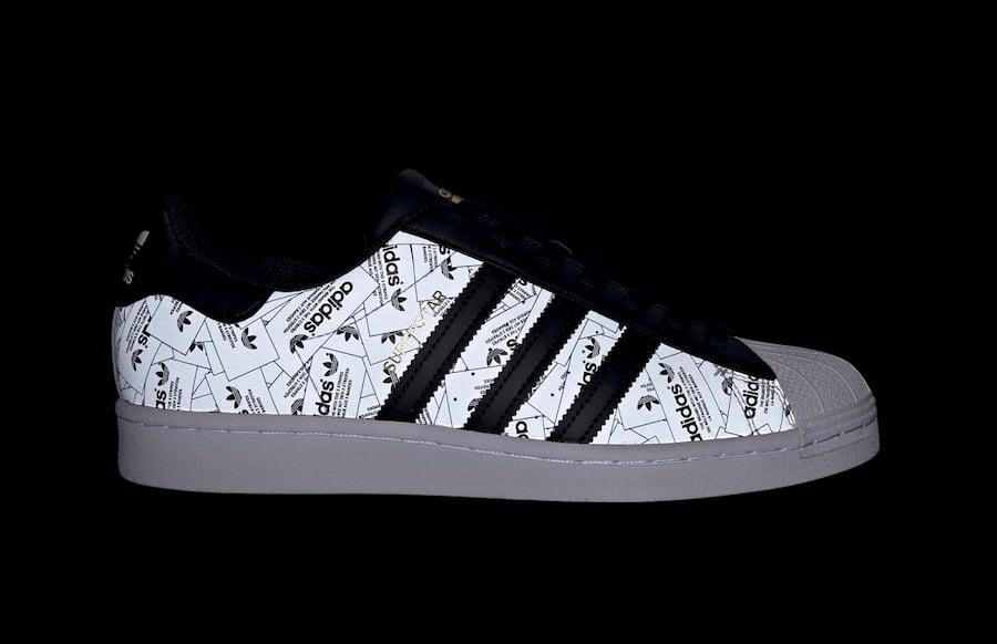 adidas superstar black label