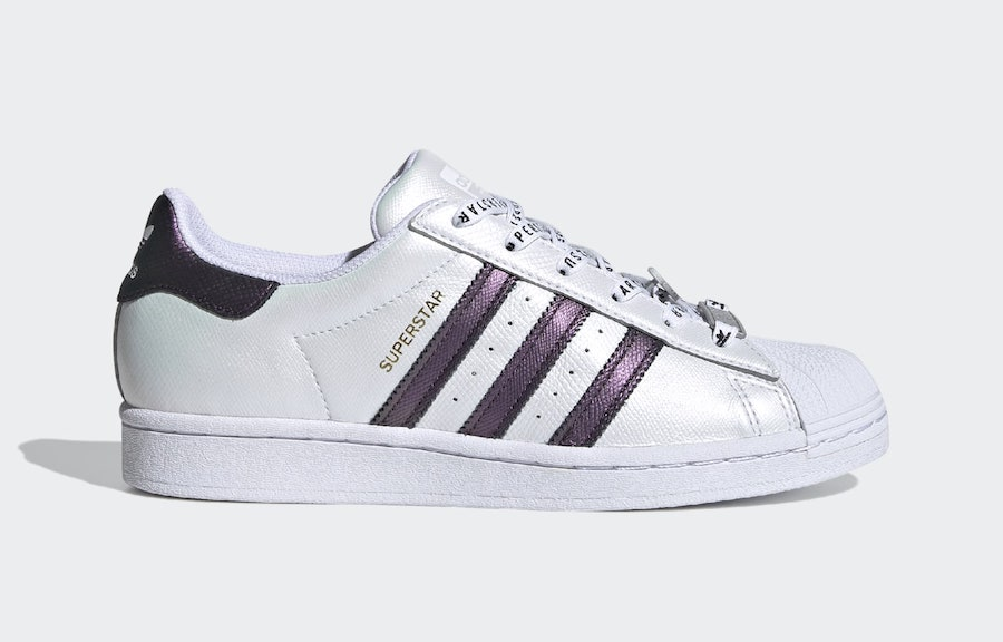 adidas Superstar White Iridescent Three Stripes FV3396 Release Date Info
