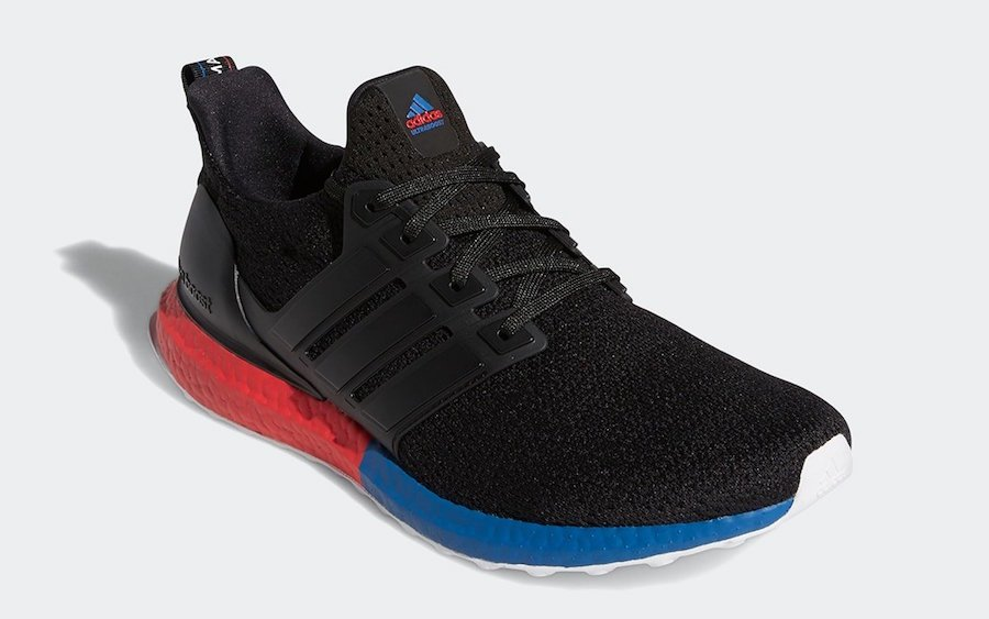 adidas Ultra Boost DNA Black Lush Red FX7236 Release Date Info