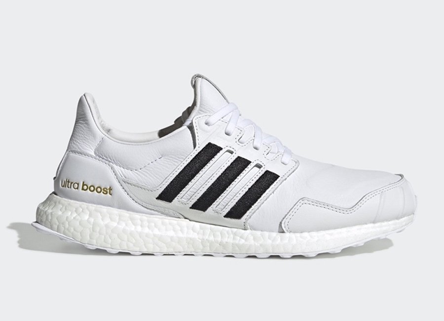 adidas Ultra Boost DNA Leather White Black EH1210 Release Date Info