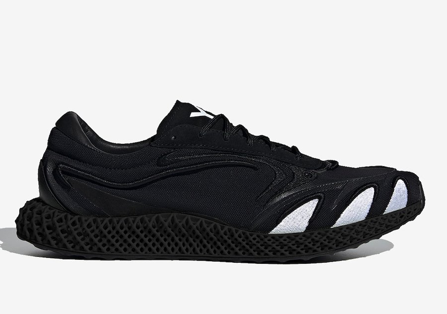 adidas Y-3 Runner 4D FU9207 Release Date Info
