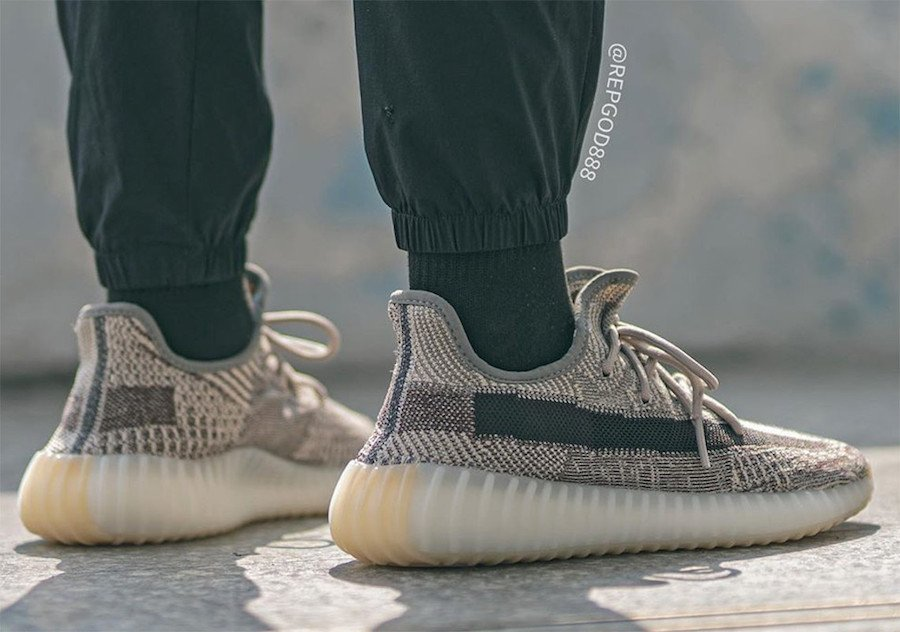 adidas Yeezy Boost 350 V2 Zyon FZ1267 On Feet