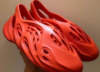 adidas Yeezy Foam Runner Orange Info