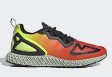 adidas ZX 2K 4D Red Orange Yellow Green FV9028 Release Date Info