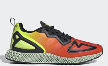 adidas ZX 2K 4D Red Orange Yellow Green FV9028 Release Date Info