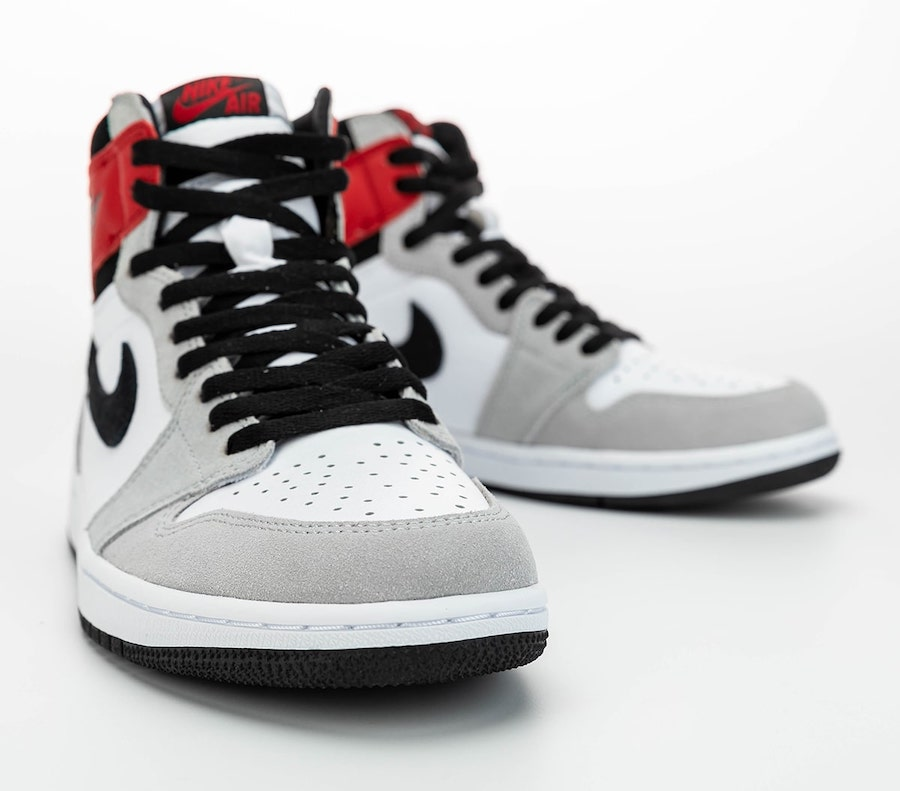 Air Jordan 1 High OG Light Smoke Grey 555088-126 2020 Release Info