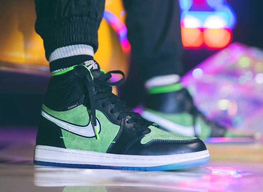 Air Jordan 1 Zoom Black Rage Green Ck6637 002 Release Date Info