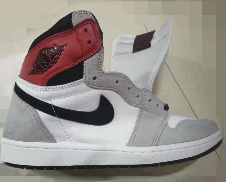 Air Jordan 1 Light Smoke Grey 555088-126 Release Date