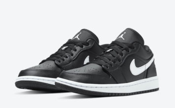 Air Jordan 1 Low Black White AO9944-001 Release Date Info