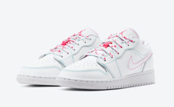 Air Jordan 1 Low GS Cotton Candy 554723-101 Release Date Info