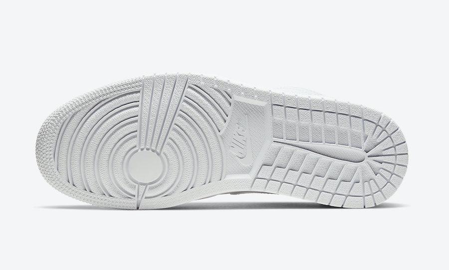 Air Jordan 1 Low Triple White 553558-130 Release Date Info