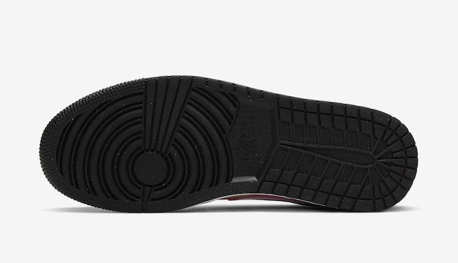 Air Jordan 1 Low White Black Yellow Pink CW5564-001 Release Date Info