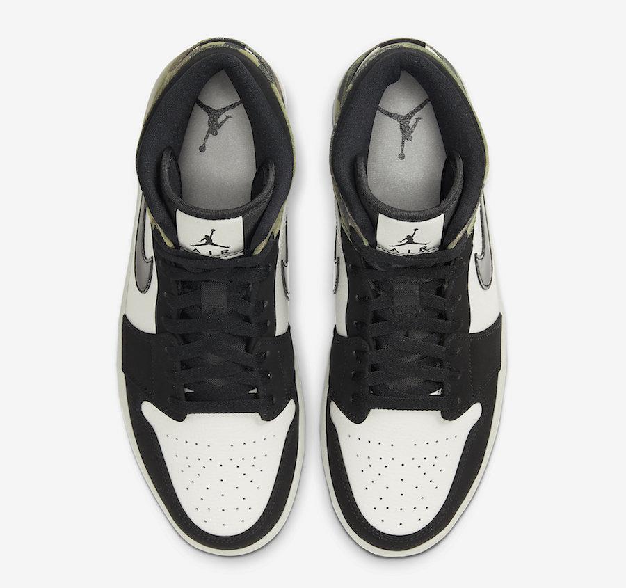 Air Jordan 1 Mid Camo CW5490-001 Release Date Info