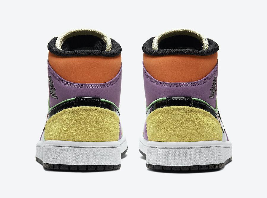 Air Jordan 1 Mid Multicolor CW1140-100 Release Date